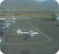 Akureyri Airport webcam