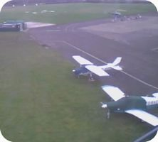 Manchester Barton Airport webcam