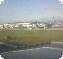Bratislava Airport webcam