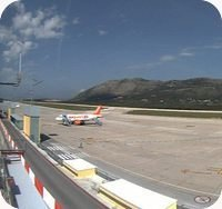 Dubrovnik Airport webcam