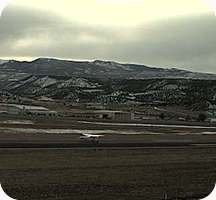 Garfield County Airport webcam