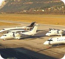 Flughafen Innsbruck Airport webcam
