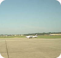 Iowa City Airport webcam