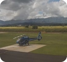 Kauai Heliport webcam