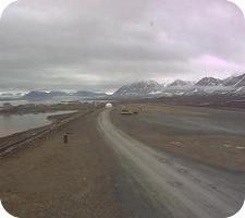 Ny Alesund Airport webcam