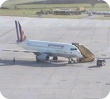 Salzburg Airport webcam