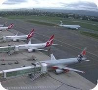 Adelaide Airport Webcam