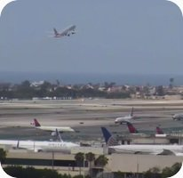 Los Angeles LAX International Airport webcam