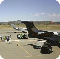 Santa Fe Airport webcam