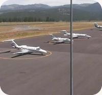 Truckee Tahoe Airport webcam