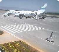 Zadar Airport webcam