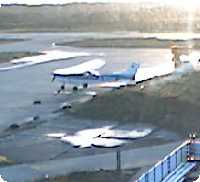 Heligoland Airport webcam
