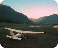 Pemberton Airfield webcam