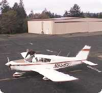 Angwin Airport webcam
