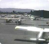 Reid Hillview Airport webcam