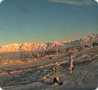 Pond Inlet Airport webcam