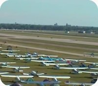 Pioneer / Oshkosh Airfield webcam
