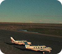 Barrow Airport webcam