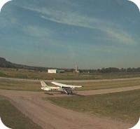 Burlington Airfield webcam
