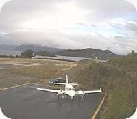 Caleta Andrade Airport webcam