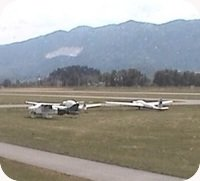 Lesce-Bled Airfield webcam