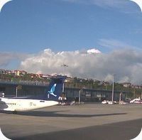 Ponta Delgada Airport webcam