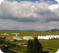 Sazena Airfield webcam