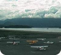 Sitka Airport webcam
