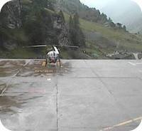 Zermatt Heliport webcam