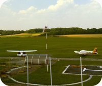 Bubovice Airfield webcam