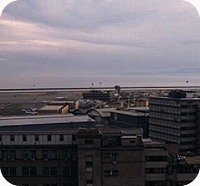 Genoa Airport webcam