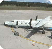 Pula Airport webcam