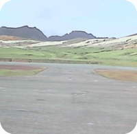 Robinson Crusoe Island airfield webcam