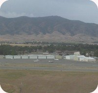 Tehachapi Airport webcam