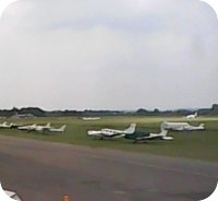 Wellesbourne Mountford Airfield webcam