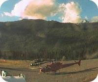 Whistler Heliport webcam