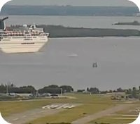 Tampa Peter O'Knight Airport webcam