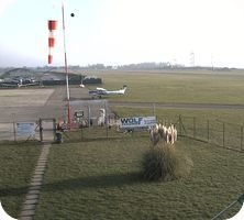 Bergamo Airport webcam