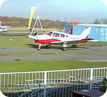 Blackbushe Airport webcam
