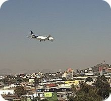 Mexico City International Airport webcam
