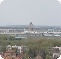 Repuloter Budapest International Airport webcam