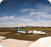 Rotorua Airport webcam