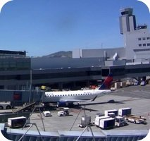 San Francisco International Airport webcam