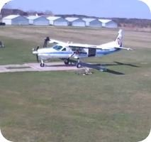 Lotnisko Chrcynno Airfield webcam
