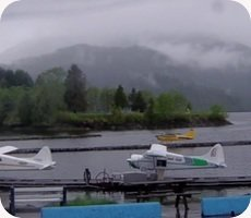 Prince Rupert Seal Cove Water Airport webcam