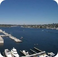 Kenmore Air Harbor Seaplane Base webcam