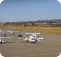 Nut Tree Airport webcam