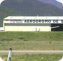 Aerodromo de Santa Cilia Airfield webcam