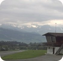Aerodrome de Megeve Altiport webcam