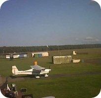 Flugplatz Neustadt-Glewe Airport webcam